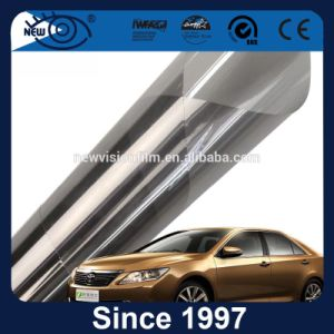 Janela do carro os autocolantes 2 camadas de proteção de calor do filme de Janela de Metal