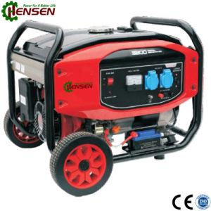 Portátil de utilização doméstica 2.5kw gerador a gasolina