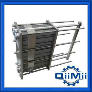 Plaque en acier inoxydable de qualité alimentaire Échangeur de chaleur pour le refroidissement ou chauffage