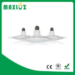 UFO moldar a lâmpada LED 15W luz em nuvem com a base da lâmpada E27
