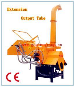 Burineur en Bois Conduit par PTO Th-8, 8 '' Diamètres, Deux Rouleaux de Départ Hydrauliques, 3point Accroc, Approbation de la CE