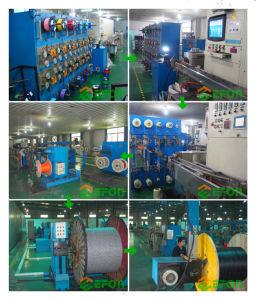 Alles Luft-ADSS Faser-Optikkabel der dielektrischen Aramid Garn-Rüstungs-Doppelt-Umhüllungen-