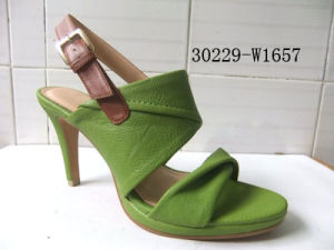 PU Mesdames sandales (30229-W1657)
