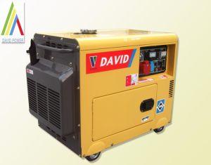 Slient 디젤 엔진 발전기 3kw/5kw/6kw (노란 색깔))