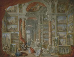 Het Met de hand gemaakte Olieverfschilderij van het museum
