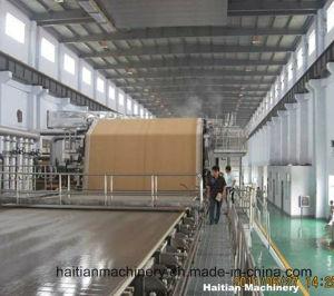 Kraft de alta velocidad Corruagted revestimiento de la prueba de la máquina de fabricación de papel