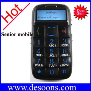 Cartão duplo SIM desbloqueado Celular para idosos e crianças Torch FM (CBM65)