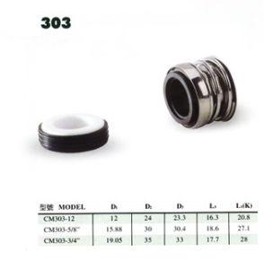 A vedação mecânica das bombas de água (303)