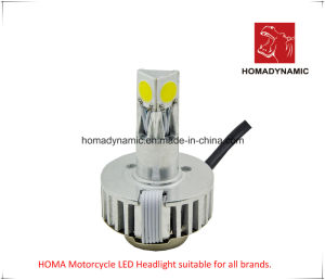 Faro de LED de moto A03 Tres LEDs laterales