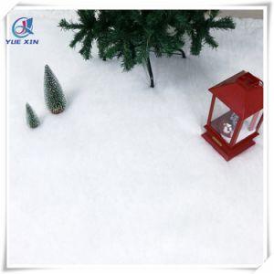 BS5852 pasa retardante de llama Feliz Navidad decoración manta de nieve