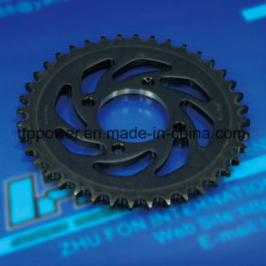 Cg125/150 45 Tand van de Keten van de Delen van de Motorfiets van het Roestvrij staal de Vastgestelde Grote/Voor/Kleine/Achter