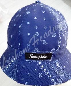 (LB15031)女の子のためのFahisonプリントバケツの帽子