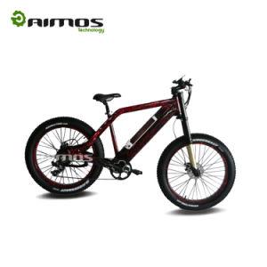 Bicicleta gorda da montanha E da bicicleta elétrica elétrica gorda grande da neve da bicicleta da montanha do pneu da potência