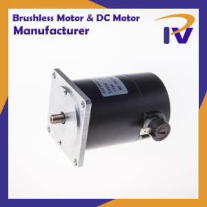 Alta eficiencia de imán permanente Cepillo Pm Motor DC, con CE