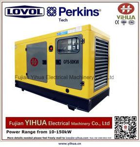 generatore diesel silenzioso 40kw/50kVA alimentato da Lovol-Perkins Engine-20171012I