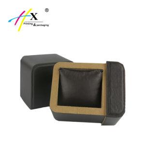 Vakje van het Horloge van het Document van het Karton van de gift het Verpakkende, het Glijdende Vakje van het Leer