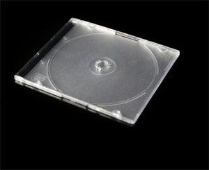CD収納箱のCD記憶の箱のカラー皿と細いCD記憶カバー5.2mm