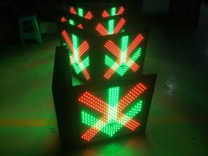 Светодиод мигает Lane Управляющий сигнал освещения / подъездная дорожка Lane сигнальная лампа