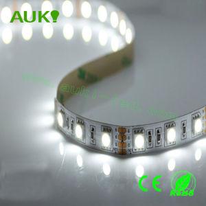 Indicatore luminoso della corda di W/RGB Corlor SMD5050 LED Flexieble per la decorazione del negozio/hotel/mercato