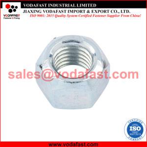 La norme DIN 6925 tout en métal galvanisé l'écrou de blocage hex