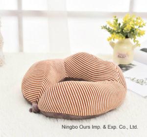 Fornecedor chinês de algodão de Memória Tipo U travesseiro de avião