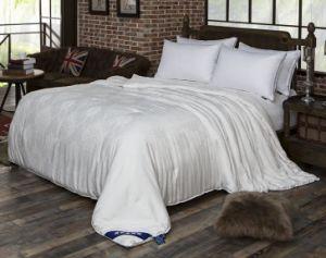 贅沢な寝具の中国のクワ絹の羽毛布団の慰める人