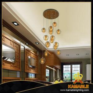 Restaurante lanterna de design clássico pendente de LED de luz (15387-2 MIC-16P)