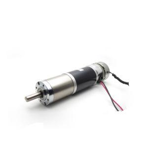 22mm 56mm a bajas revoluciones 24V 12V DC pequeño motor de engranajes planetarios de cerradura electrónica y persianas