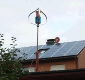 Gerador de vento vertical Home pequeno do uso 200W 12V/24V