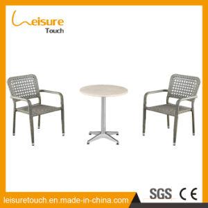La maggior parte della mobilia impermeabile piegante moderna di alluminio della Tabella pranzante della casa dell'hotel popolare e del sofà del patio esterno del giardino della presidenza