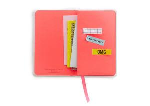 O melhor da moda com mini notebook diário de Bolso Planificador de viagem