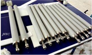 Membrana microporosa de metal sinterizado