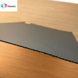 Plástico corrugado de polipropileno para protecção Follor cor branca e preta