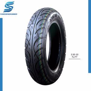 Ausgezeichnetes Peilung-Leistungs-Schwarz-herzstärkender Motorrad-Reifen 3.25-18