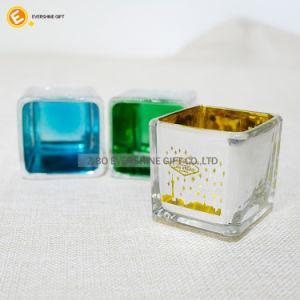 Vela de la jarra de cristal para la decoración del hogar/Bodas