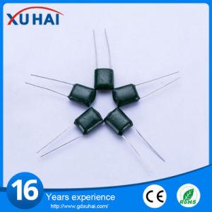 Los diez productos con alto voltaje Condensador de película de poliéster verde