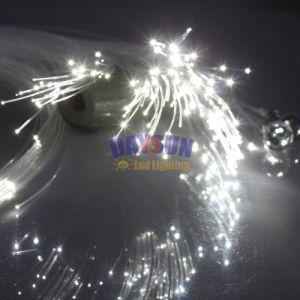 Los nuevos LED RGBW Twinkle Star Juego de luces de techo con RF Control remoto con cable de fibra óptica y cristales de la habitación de techo del coche o de techo
