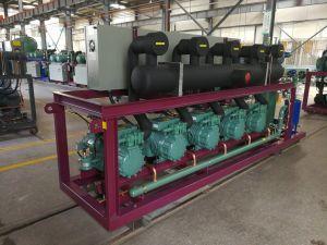 Unità del compressore di pistone di parallelo di temperatura insufficiente per cella frigorifera