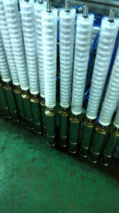 4 pulgadas de 4,8m3/H pozo profundo bomba sumergible para el Sudeste asiático
