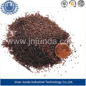 Wasser-Filtration-/Sand-Startenabschleifendes rotes Korn/ehrliches Ineinander greifen des Pferden-/Granat-Sand-20-40