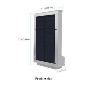 明るさ49LEDの動きセンサーの太陽壁ライト屋外の庭ライト