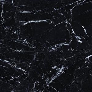 De zwarte Tegel Vloer van de Achtergrond Witte van de Lijn Marmeren