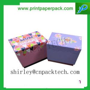 절묘한 관례에 의하여 인쇄되는 꽃 색깔 종이 선물 상자