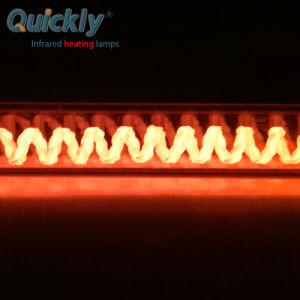 A fibra de carbono Onda Média do aquecedor de halogéneo de quartzo 600W