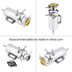 kit di alluminio del bacino idrico della bottiglia del liquido refrigerante del dispositivo di raffreddamento di acqua del serbatoio della cattura di overflow 350ml