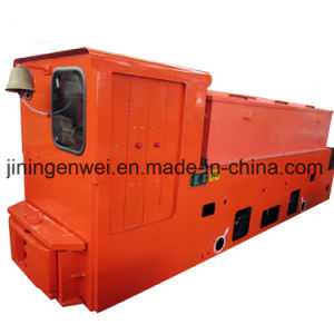 De explosiebestendige Locomotief van het Karretje van de Batterij van de Ondergrondse Mijn
