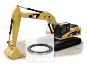 Компания Caterpillar E320c/D стандартного поворотного подшипника в сборе