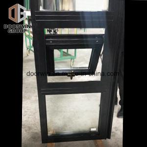 Cor de tinta de revestimento a pó preto Thermal Break Janela Casement de alumínio