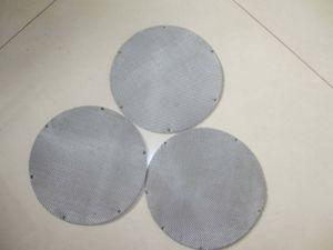 Malha de Arame de aço inoxidável com tela de filtro de 24 Mícron