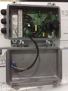 AC DC de la pompe à eau solaire 750watt 0,75KW Max 90mètres de la tête